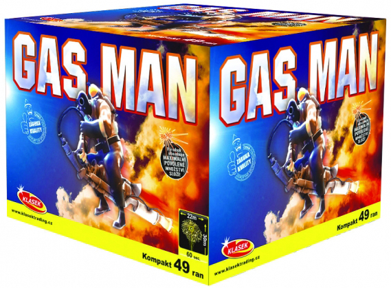 Gas Man 49rán 25mm