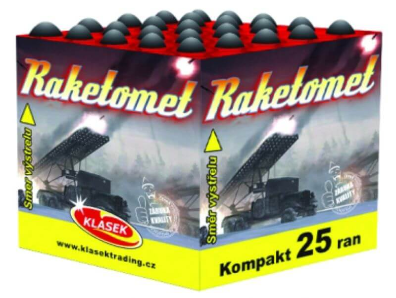 Raketomet 25rán 4ks