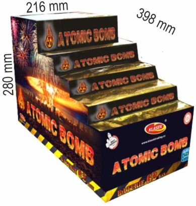 Atomic Bomb 62rán 20+25+30+48mm I+V+S
