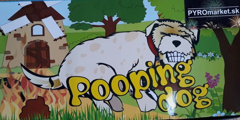 Pooping Dog 2ks