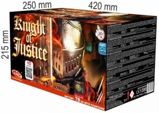 Knight of Justice 78rán 2 fontány+20+25+30+40mm