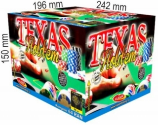 Texas Holdem 64rán 20+25mm