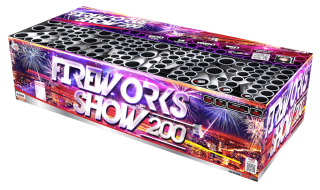 Fireworkshow 200rán 20+25+30mm I+V+S
